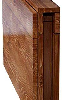 LWB Tische Wandtisch Wand Klapptisch Massivholz Multifunktion Einfach Zu Falten Einfach 204x330 - L&WB Tische Wandtisch Wand-Klapptisch Massivholz Multifunktion Einfach Zu Falten Einfach Zu Säubern Platz Sparen,100 * 50cm