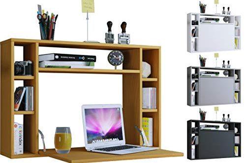 VCM Wandschreibtisch Wandtisch Schreibtisch Wandregal Buerotisch Wandila Weiss 500x330 - VCM Wandschreibtisch Wandtisch Schreibtisch Wandregal Bürotisch Wandila Weiß