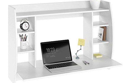 Vicco Wandschreibtisch MAX 110 cm Schreibtisch Wandschrank Wandtisch Buerotisch 500x330 - Vicco Wandschreibtisch MAX 110 cm - Schreibtisch Wandschrank Wandtisch Bürotisch Arbeitstisch für PC Computer - 3 Dekore