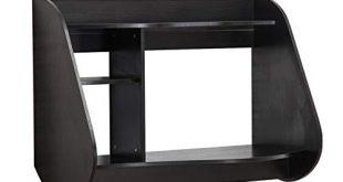 MCombo Wandtisch Wandschreibtisch Schreibtisch Wandschrank Esstisch 110 x 80 cm 310x165 - MCombo Wandtisch Wandschreibtisch Schreibtisch Wandschrank Esstisch 110 x 80 cm (Schwarz)
