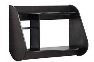 MCombo Wandtisch Wandschreibtisch Schreibtisch Wandschrank Esstisch 110 x 80 cm (Schwarz)